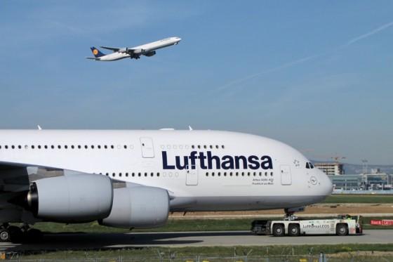 A380 A340 Lufthansa