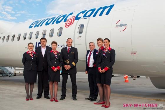 Załoga samolotu Bombardier Q400 Eurolot