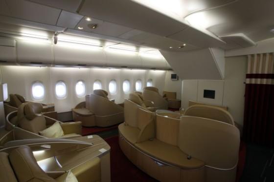 Air_France_AirbusA380_Wnetrze i nastrojowe oswietlenie_Klasa_La_Premier
