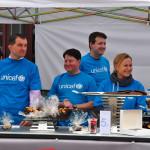 Kawiarnia UNICEF przed Hotelem Bristol