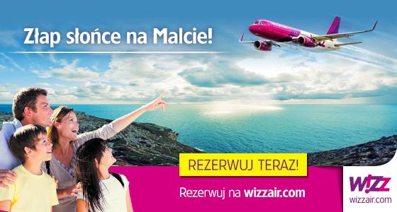 wizz air Gdańsk - Malta
