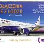 4You Airlines ogłasza uruchomienie połączeń z Łodzi!
