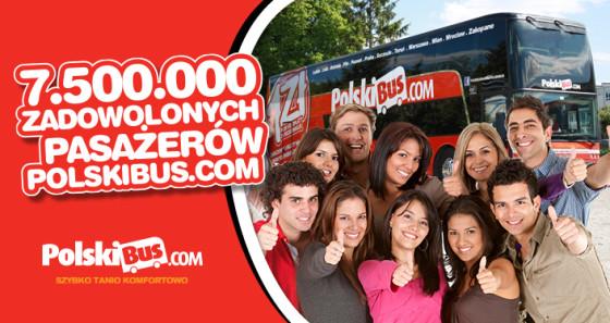 PolskiBus.com_7,5 miliona zadowolonych pasażerów
