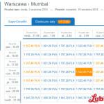 Bombaj (Indie) z Warszawy już za 1357 zł w dwie strony!