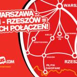 PolskiBus.com pojedzie z Warszawy do Lublina i Rzeszowa!