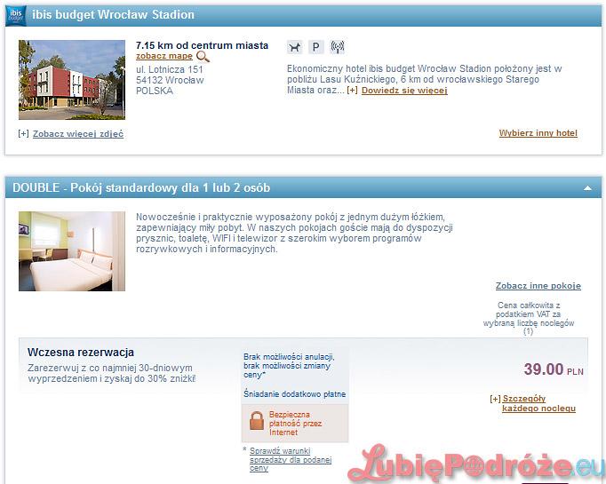 Noclegi W Hotelach Sieci Ibis Budget Za 39 Zł 2os