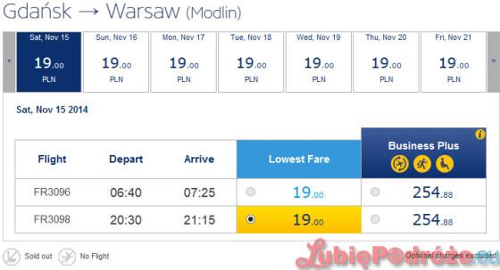 Ryanair_GDN-WMI