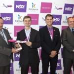 Wizz Air zainaugurował nowe połączenia z Poznania, Gdańska, Szczecina i Katowic
