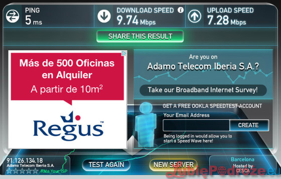 speedtest_Novotel_City_Barcelona_internet