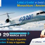 Adria Airways poleci z Łodzi do Amsterdamu. Drugie połączenie do Monachium!