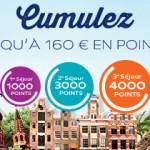 8000 punktów wartych 160 EUR za 3 pobyty w hotelach sieci Accor!