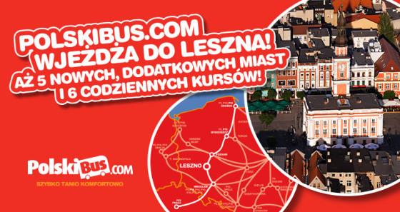 PolskiBus com_Leszno nowy przystanek