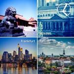 """Promocja """"Szalona Środa"""" LOT'u – 25.02.2015r. Frankfurt od 349 zł, Wiedeń, Tallin od 399 zł oraz Pekin od 1999 zł."""