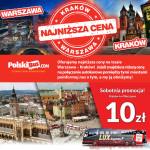 PolskiBus vs. LuxExpress – wojna cenowa na trasie Warszawa-Kraków-Warszawa