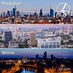 """Promocja """"Szalona Środa"""" LOT'u – 18.03.2015r. Mediolan od 389 zł, Wilno od 399 zł oraz Tel Awiw od 599 zł."""