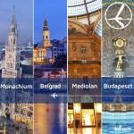 """Promocja """"Szalona Środa"""" LOT'u – 06.05.2015r. Belgrad, Budapeszt, Mediolan oraz Monachium od 379 zł."""