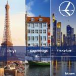 """Promocja """"Szalona Środa"""" LOT'u – 24.06.2015r. Frankfurt, Kopenhaga oraz Paryż od 299 zł."""
