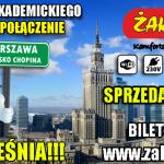 Nowe połączenie autokarowe od Żak Express – Płock-Warszawa. Bilety już od 1 zł!