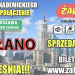 Żak Express nie uruchomi połączenia Płock – Warszawa Lotnisko Chopina