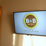 Nowe telewizory w hotelu B&B Toruń