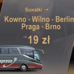 Lux Express wyjeżdża z Wrocławia, a wjeżdża do Suwałk i Brna