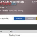 Platynowy status i 4 tysiące punktów Le Club jako rekompensata w AccorHotels