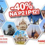 Promocja w PolskiBus.com – 40% mniej na aż 13 miast!