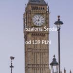 """Promocja """"Szalona Środa"""" LOT'u – 02.11.2016r. Szczecin, Katowice, Lwów, Kluż-Napoka oraz Londyn od 139 zł."""