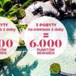 6 tysięcy punktów o wartości 120 EUR do zdobycia! Ruszyła nowa promocja w Le Club AccorHotels!