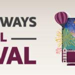 Podróże Marzeń – świetna noworoczna promocja Qatar Airways. Dodatkowe 15% zniżki dla posiadaczy kart kredytowych VISA!