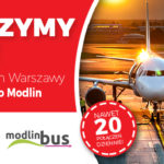 PolskiBus.com i ModlinBus łączą siły na trasie Warszawa – Lotnisko Modlin!