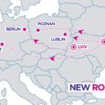 Wizz Air ogłasza nowe trasy z Lublina i Poznania do Kijowa!