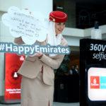 Dzień Szczęścia z Emirates – niespodzianki dla pasażerów i pracowników