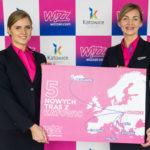 Wizz Air umieszcza 6. samolot na lotnisku w Katowicach i ogłasza nową trasę