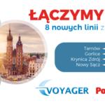 PolskiBus.com łączy siły z Voyager! 8 nowych linii z Małopolski