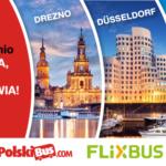 Nowa linia do Drezna, Düsseldorfu i Essen na platformie PolskiBus.com!