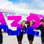 Wizz Air świętuje pierwszy lot Airbusem A321 z bazy w Gdańsku