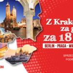 Z Krakowa za granicę za 18 zł z PolskiBus.com