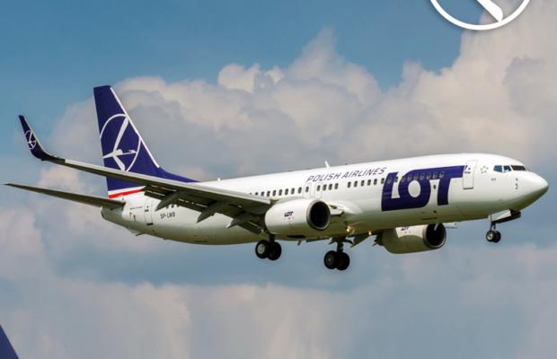 LOT Boeing 737-800 NG
