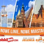 4 nowe linie PKS Jelenia Góra na platformie PolskiBus.com!
