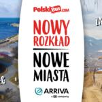 Letnie podróże na trasie Zakopane – Kołobrzeg – bilety już dostępne! Nowe przystanki w Ustroniach Morskich, Szczecinku, Pile, Lesznie i Gliwicach!