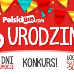 6 urodziny PolskiBus.com! 23 000 000 sprzedanych biletów