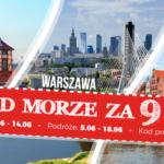 Nad morze za 9 zł z PolskiBus.com!