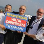 Ryanair wprowadza loty łączone na lotnisku Mediolan Bergamo