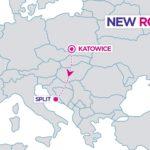 Wizz Air zainaugurował połączenie z Katowic do chorwackiego Splitu!