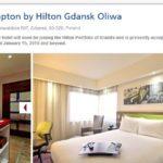 Hampton by Hilton Gdańsk Oliwa przyjmuje już rezerwacje!