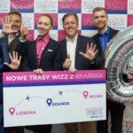 Wizz Air rozwija się w Gdańsku – dwie nowe trasy i inne nowości!