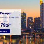 Weekendowa wyprzedaż – wyjątkowe okazje na podróże Lufthansą po Europie