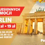 Rusza Festiwal Jesiennych Promocji w PolskiBus.com! Aż 10 000 biletów na podróże w Polsce i za granicą!
