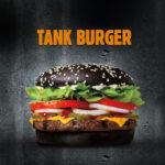 Jest ogień – czarny Tank Burger w ofercie Burger King